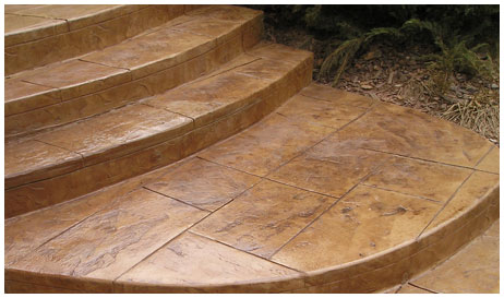 How to Do Stamped Concrete Patterns | eHow